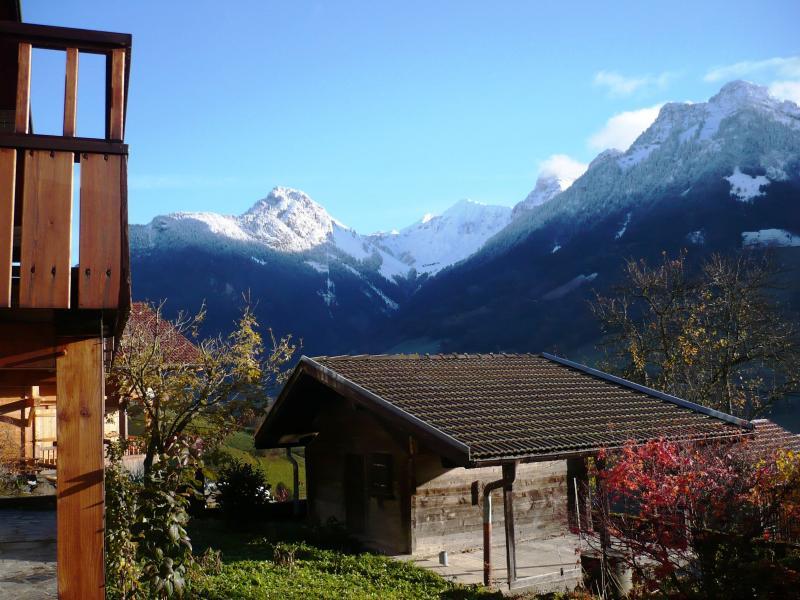 Vista dalla casa vacanze Affitto Chalet 72056 La Clusaz