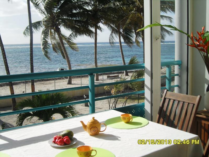 Vista dalla casa vacanze Affitto Appartamento 73786 Sainte Anne (Guadalupa)
