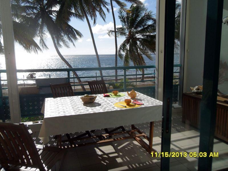 Vista dal terrazzo Affitto Appartamento 73786 Sainte Anne (Guadalupa)