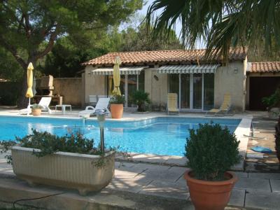 Vista dal terrazzo Affitto Villa  77033 Avignone