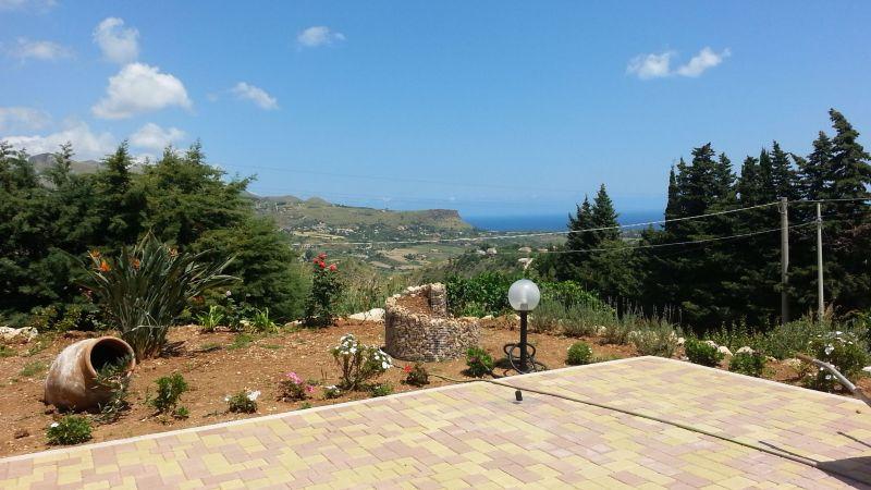 Vista dalla casa vacanze Affitto Villa  77449 Castellammare del Golfo