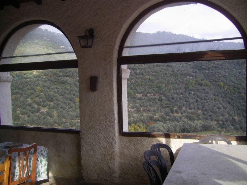 Vista dalla casa vacanze Affitto Agriturismo 80918 Dolcedo