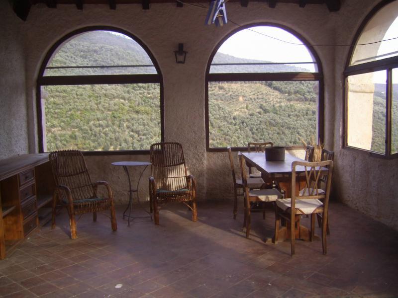 Vista dal balcone Affitto Agriturismo 80918 Dolcedo
