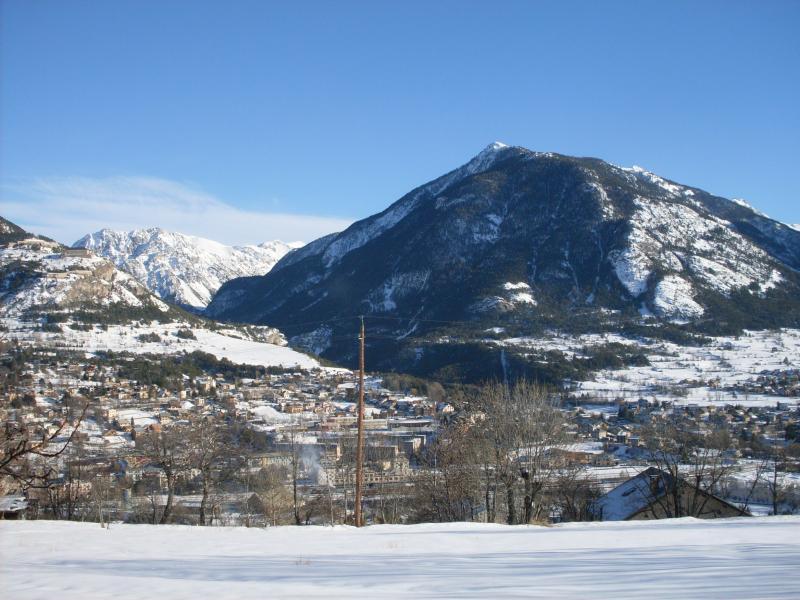 Vista dalla casa vacanze Affitto Monolocale 82889 Briançon
