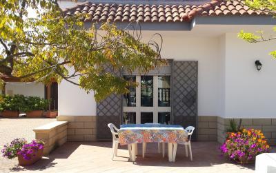 Vista esterna della casa vacanze Affitto Appartamento 96422 Porto Cesareo