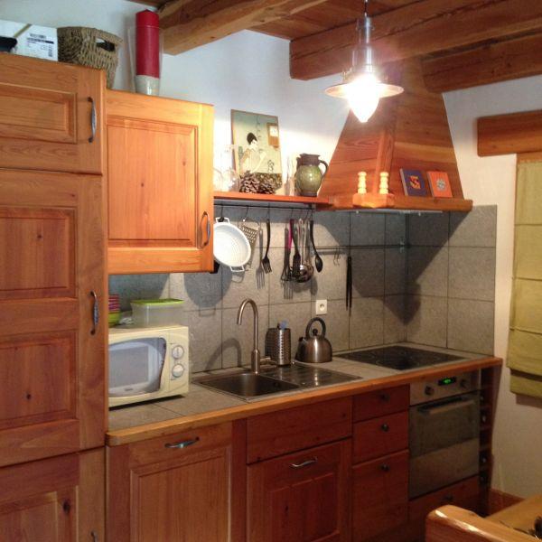Cucina all'americana Affitto Appartamento 100869 Monginevro