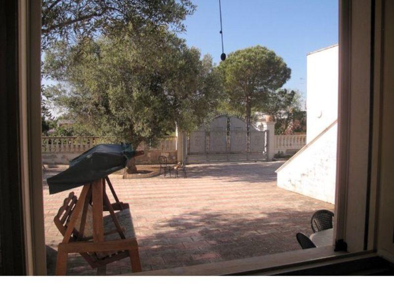Vista dal balcone Affitto Villa  101111 Gallipoli