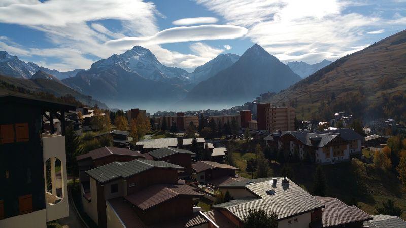 Vista dal balcone Affitto Appartamento 101201 Les 2 Alpes