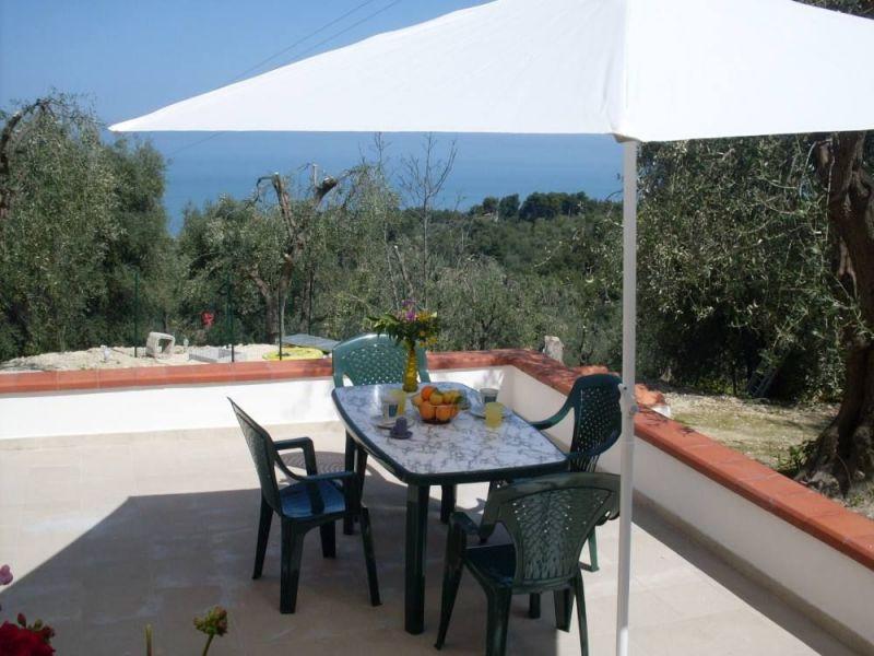 Vista dal terrazzo Affitto Appartamento 101780 San Menaio