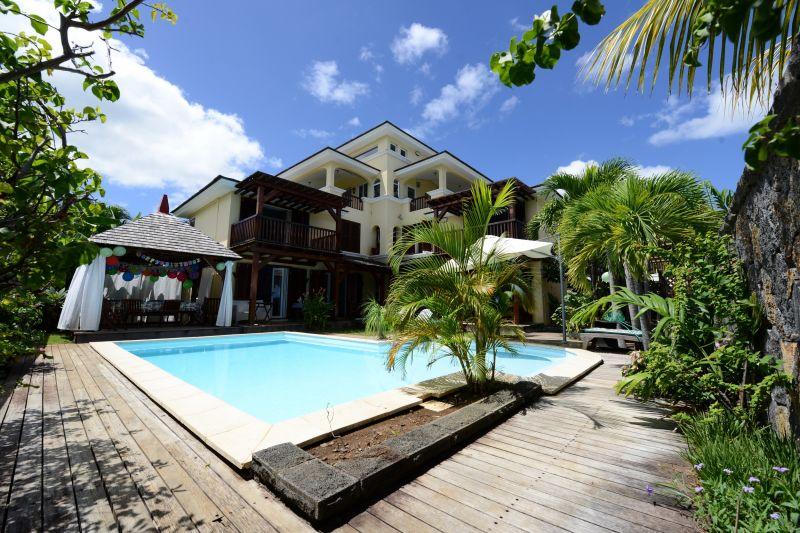 Vista esterna della casa vacanze Affitto Villa  105203 Tamarin