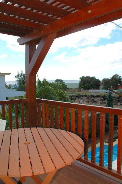 Vista dal balcone Affitto Villa  105203 Tamarin