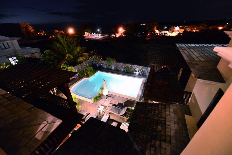 Vista dal terrazzo Affitto Villa  105203 Tamarin