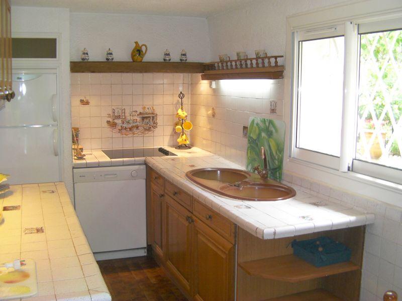 Cucina separata Affitto Appartamento 106323 Antibes