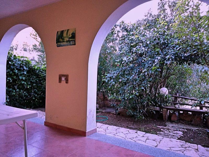 Vista dal terrazzo Affitto Villa  110122 Pula