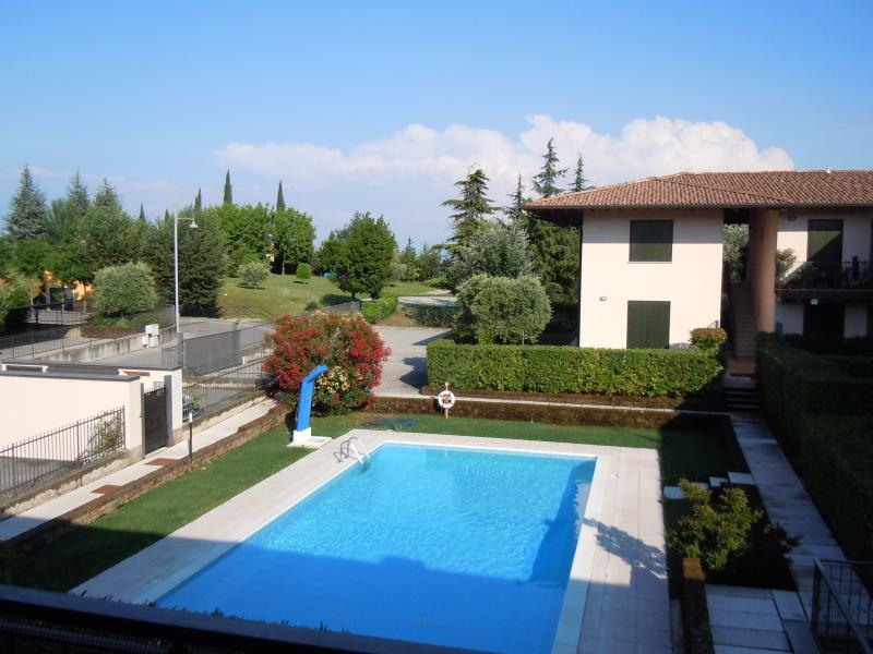 Vista dal terrazzo Affitto Appartamento 64654 Manerba del Garda