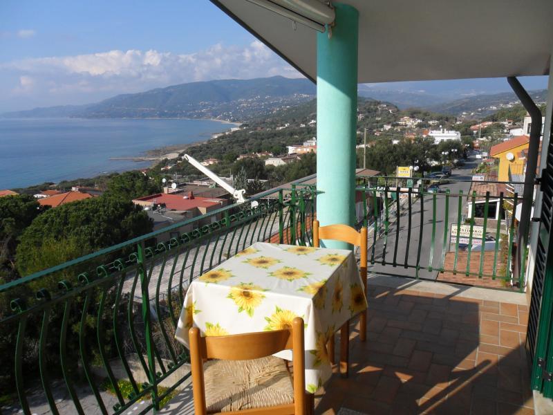 Vista dal terrazzo Affitto Appartamento 78728 Palinuro