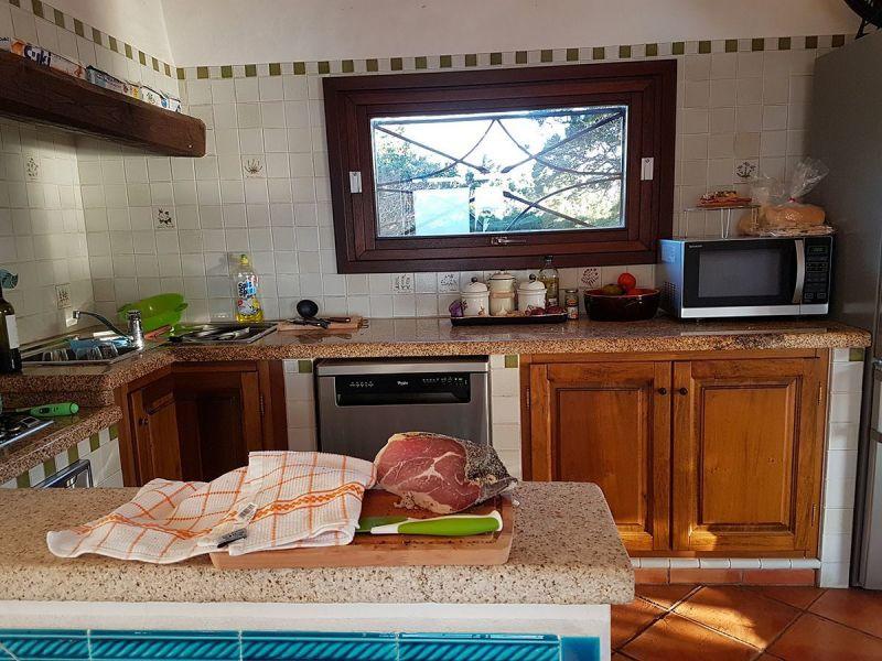 Cucina all'americana Affitto Villa  90063 Santa Teresa di Gallura