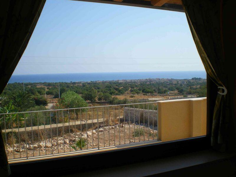 Vista dalla casa vacanze Affitto Villa  91710 Sampieri