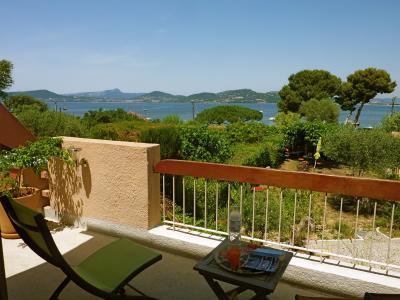 Vista dalla casa vacanze Affitto Villa  100115 Hy�res