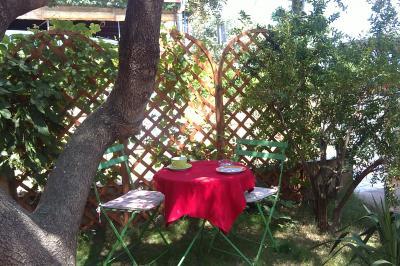 Giardino Affitto Monolocale 100436 Cala Gonone