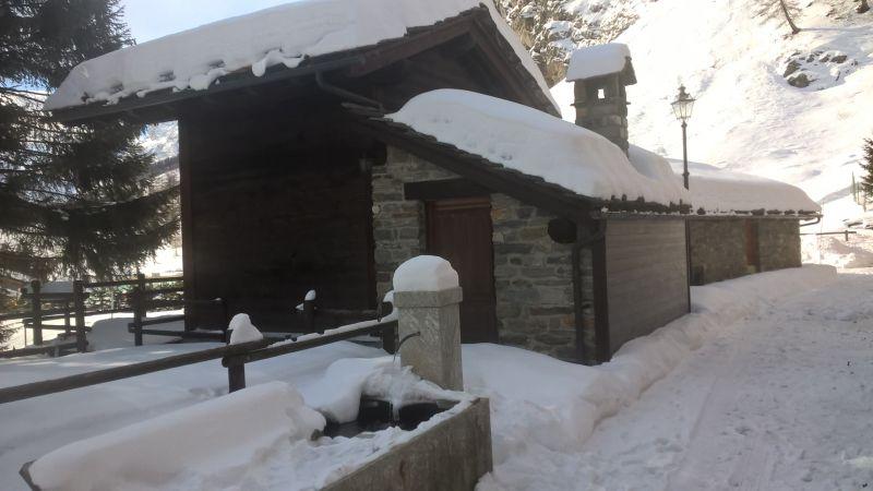 Vista dalla casa vacanze Affitto Appartamento 101792 Rhémes-Notre-Dame