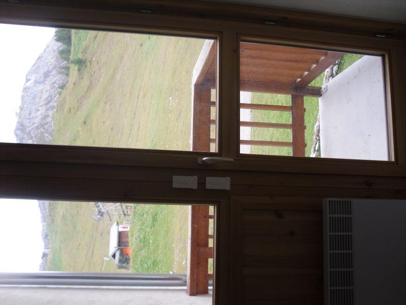 Vista dal balcone Affitto Monolocale 106820 La Plagne