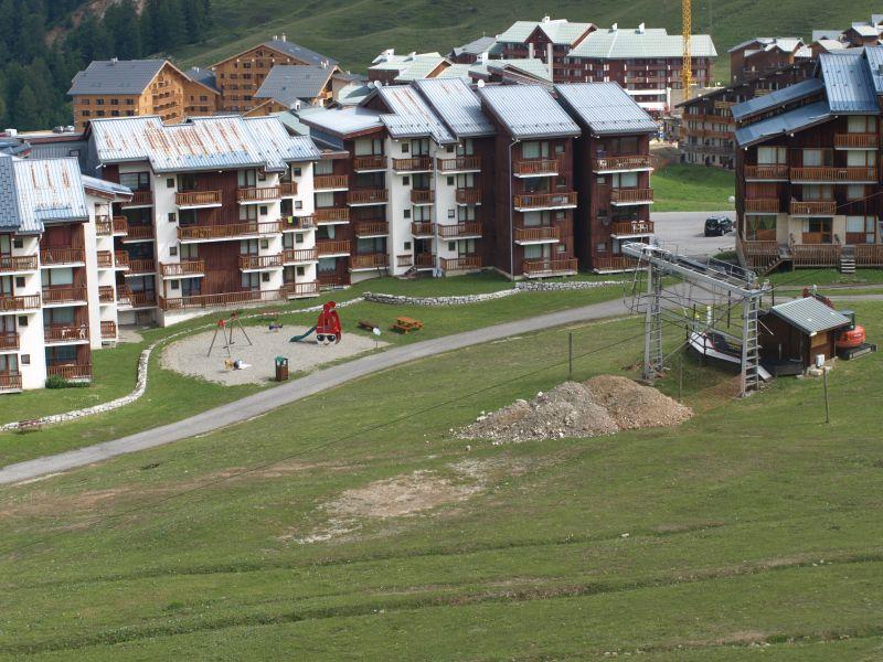 Vista esterna della casa vacanze Affitto Monolocale 106820 La Plagne