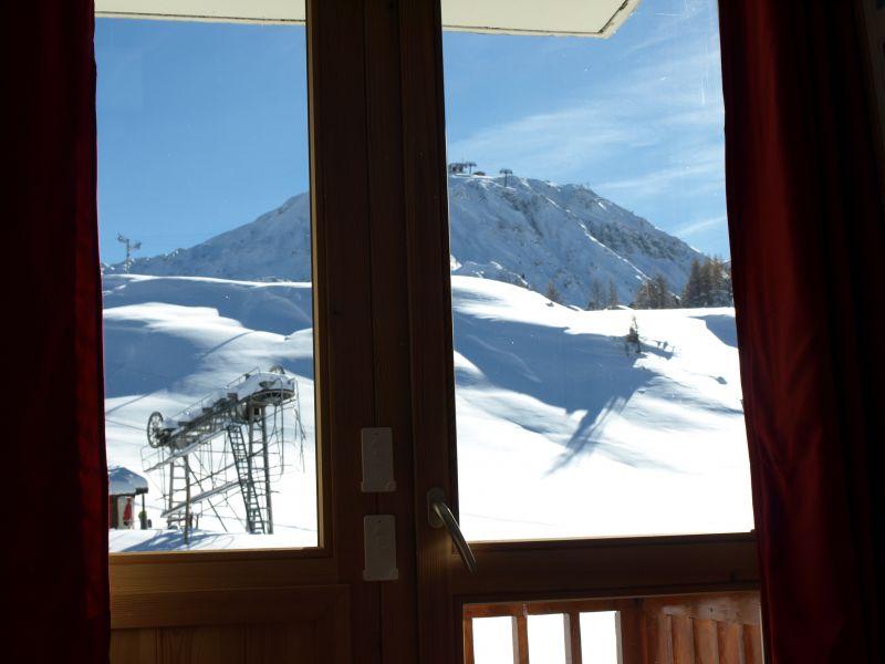 Vista dalla casa vacanze Affitto Monolocale 106820 La Plagne
