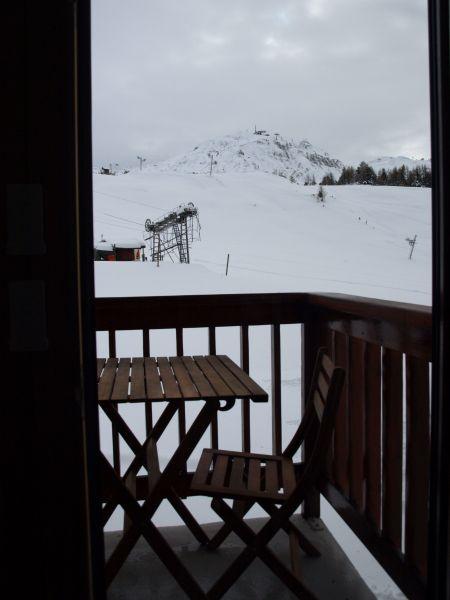 Vista dal terrazzo Affitto Monolocale 106820 La Plagne