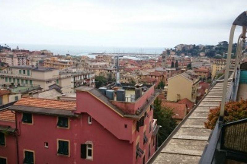 Vista dal terrazzo Affitto Appartamento 110071 Rapallo