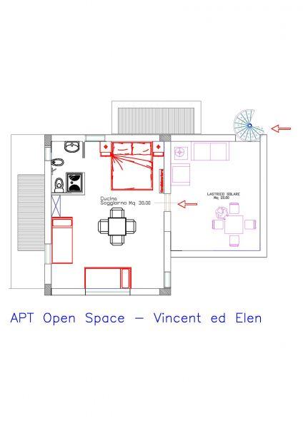 Mappa Affitto Appartamento 111022 Scopello