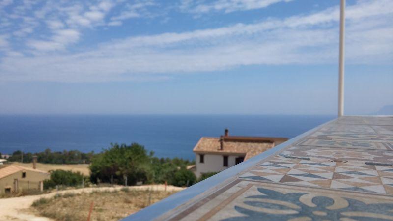 Vista dal terrazzo Affitto Appartamento 111022 Scopello