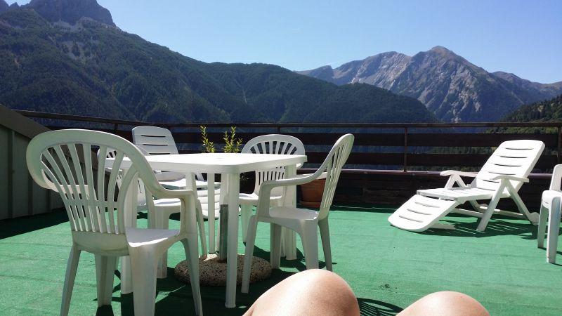 Vista dal terrazzo Affitto Appartamento 112000 Barcelonnette