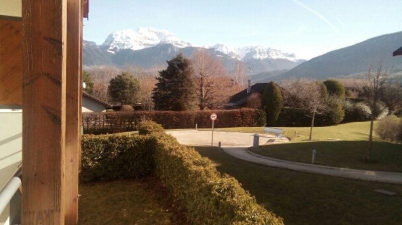 Vista dal terrazzo Affitto Appartamento 114387 Annecy