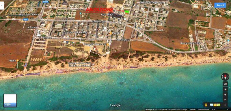 Spiaggia Affitto Villa  114625 Pescoluse