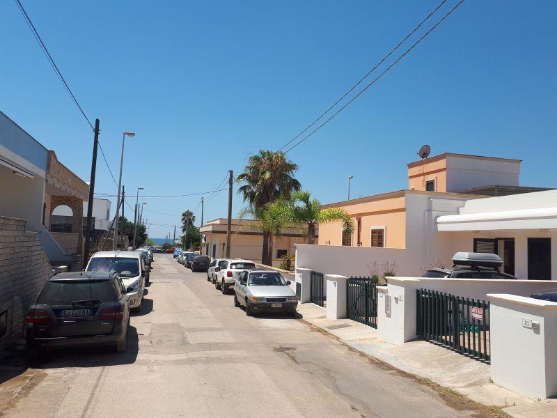 Vista esterna della casa vacanze Affitto Villa  114625 Pescoluse