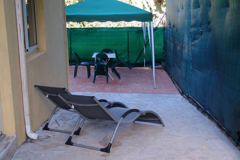 Vista dal terrazzo Affitto Appartamento 117365 Goyave