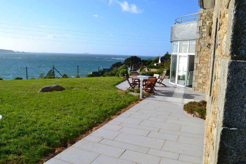 Vista dalla casa vacanze Affitto Casa 118593 Trelevern