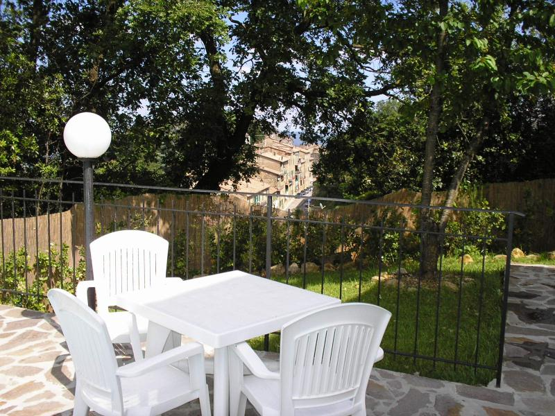 Giardino Affitto Appartamento 73261 San Gimignano