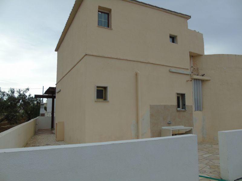 Vista esterna della casa vacanze Affitto Casa rupestre 78245 Gallipoli