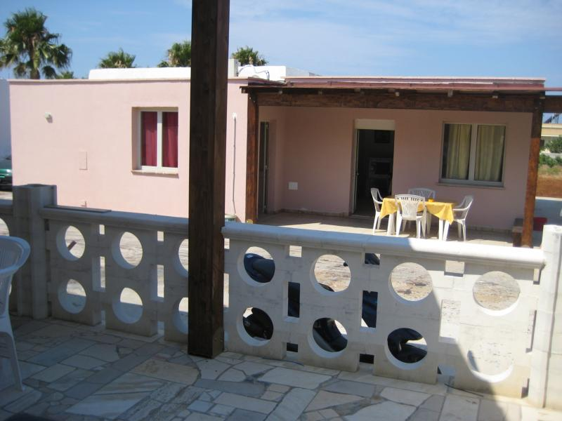 Vista dal terrazzo Affitto Casa rupestre 78245 Gallipoli