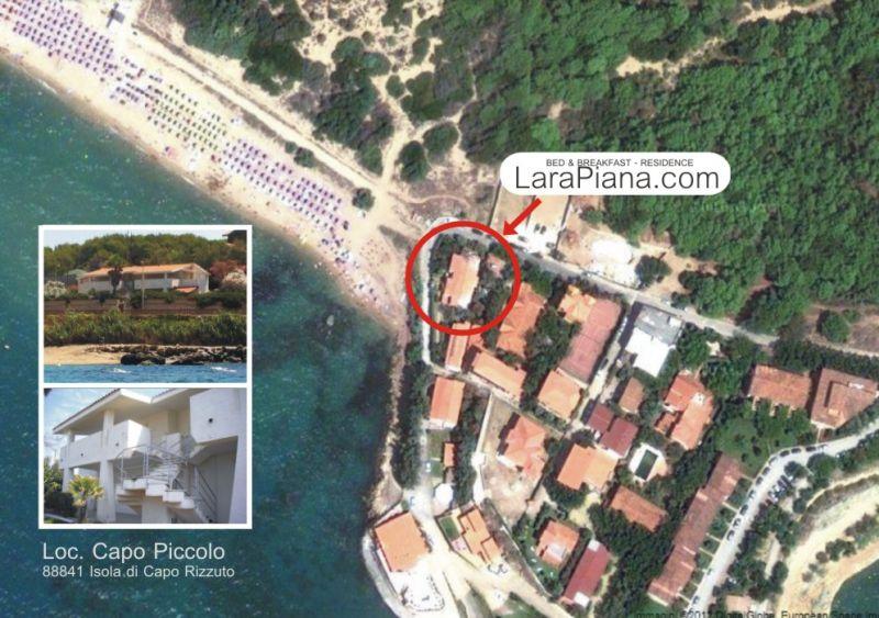 Pianta casa vacanze Affitto Appartamento 79202 Isola di Capo Rizzuto
