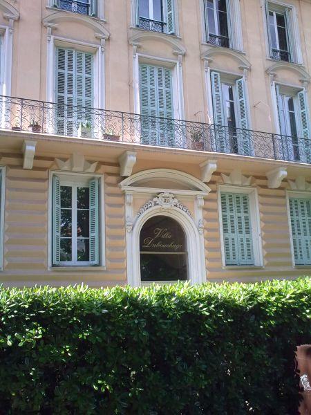 Vista esterna della casa vacanze Affitto Appartamento 87627 Nizza