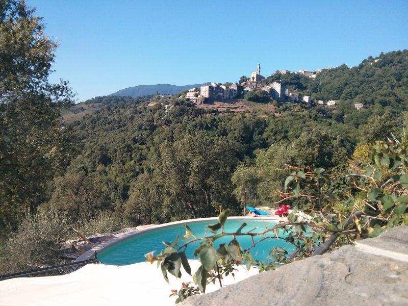 Vista dal terrazzo Affitto Casa 90781 Santa-Lucia-di-Moriani