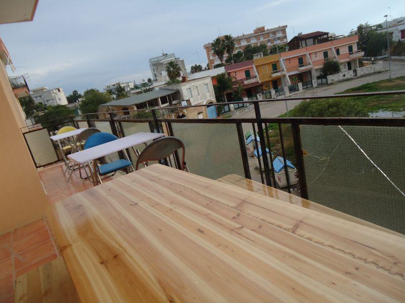 Vista dal terrazzo Affitto Appartamento 92227 Gallipoli