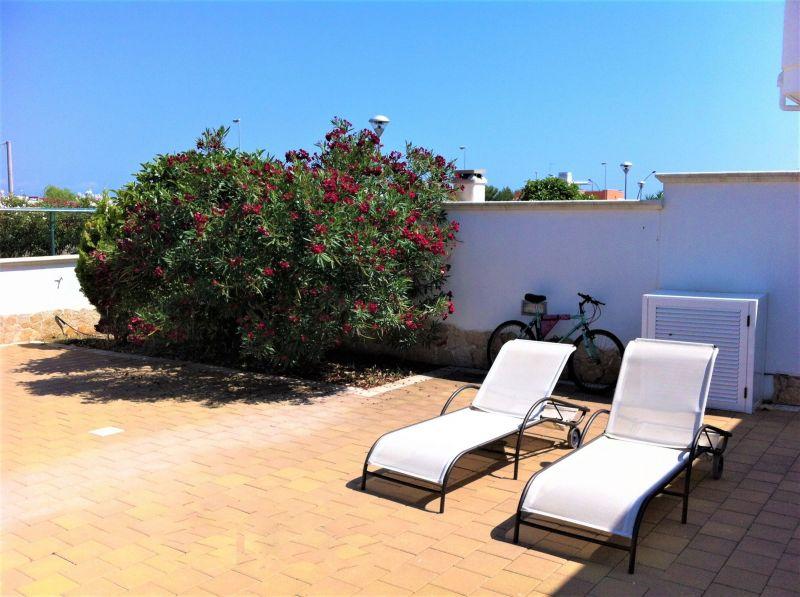 Vista dal terrazzo Affitto Villa  94448 Pescoluse