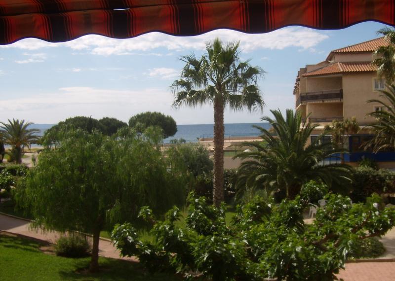 Vista dal balcone Affitto Appartamento 10359 La Londe les Maures