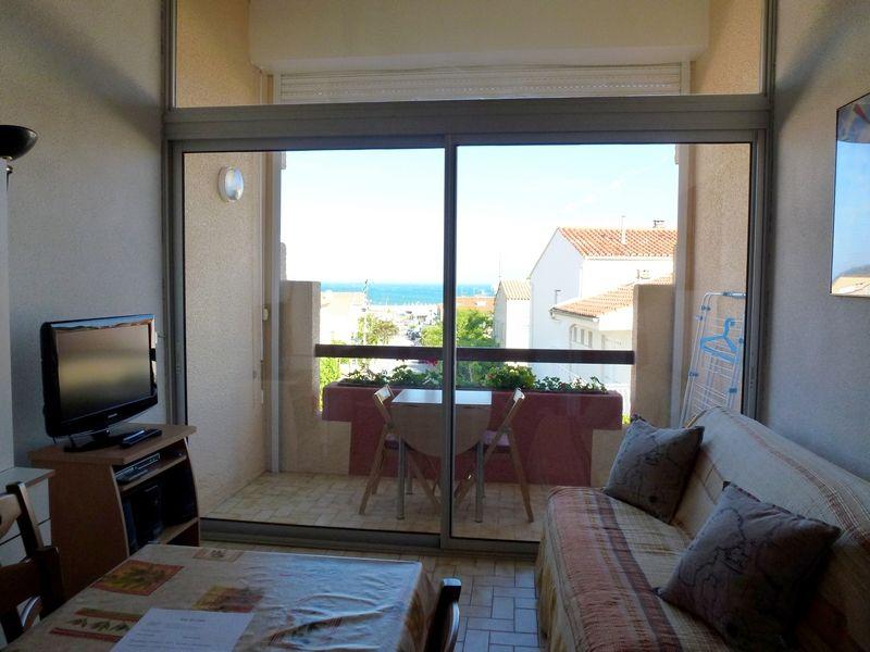 Vista dalla casa vacanze Affitto Monolocale 10498 Saint Pierre la Mer