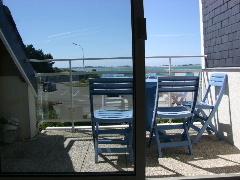Vista dal terrazzo Affitto Appartamento 10676 Carnac