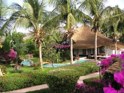 Vista esterna della casa vacanze Affitto Villa  10817 Saly